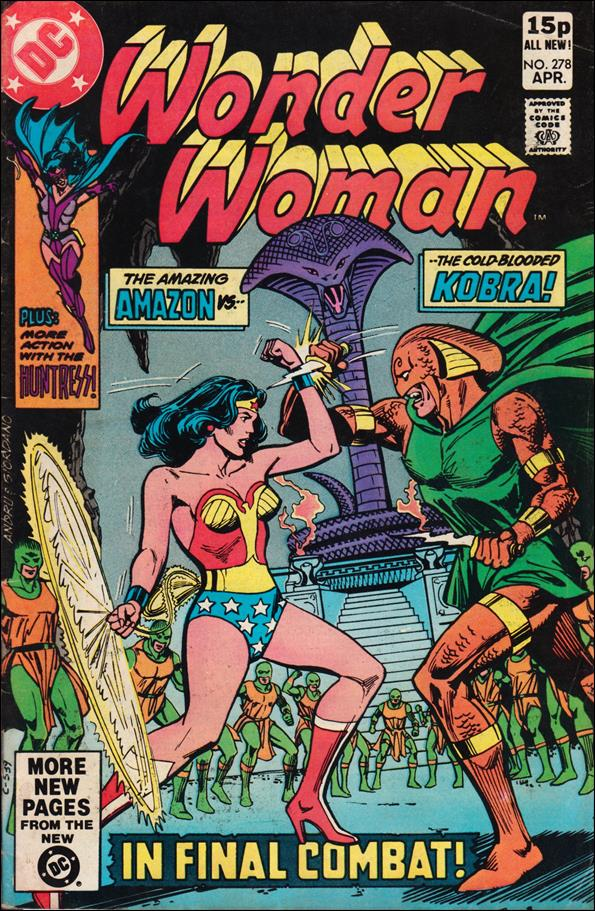 Wonder Woman (1942) 278-B by DC