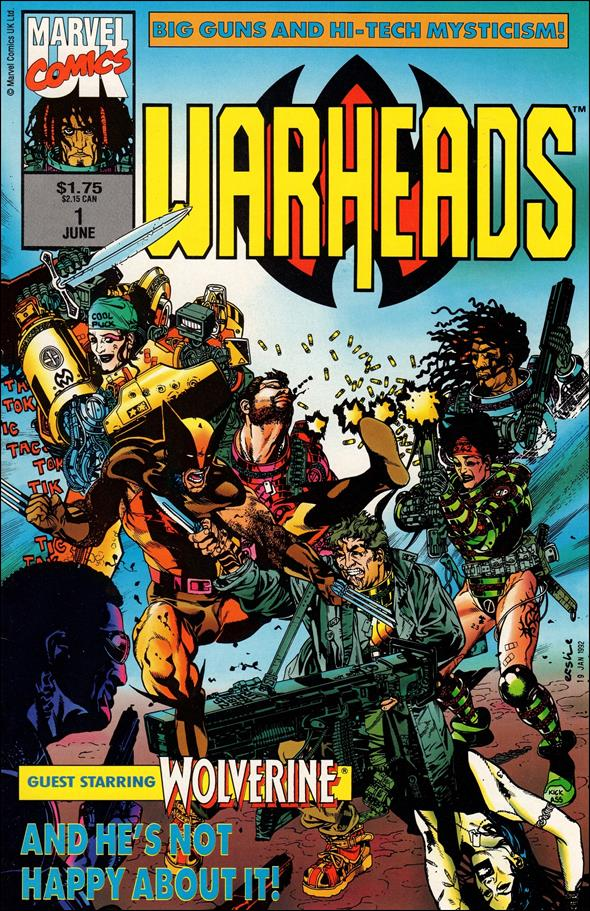 Warheads (UK) 1-A by Marvel UK