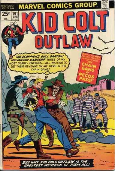 Kid Colt Outlaw  191-A by Marvel