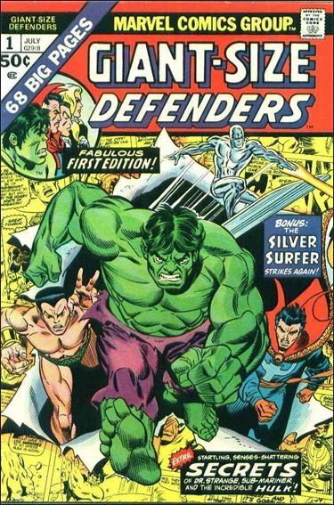 Giant-Size Defenders 1-A by Marvel