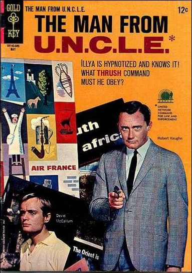 Man from U.N.C.L.E. (1965) 6-A by Gold Key