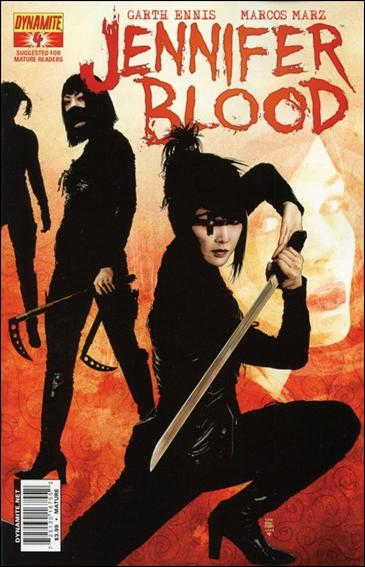 Jennifer Blood 4-A by Dynamite Entertainment