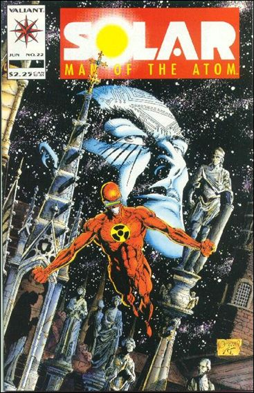 Solar, Man of the Atom (1991) 22-A by Valiant