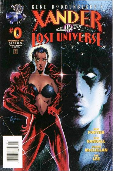 Gene Roddenberry's Xander in Lost Universe 0-A by Tekno•Comix