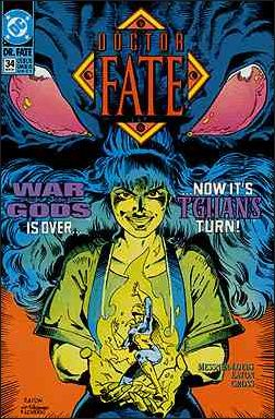 Doctor Fate (1988) 34-A by DC