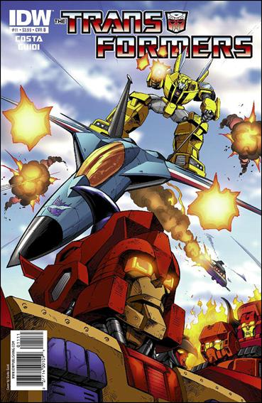 Transformers (2009) 11-B by IDW