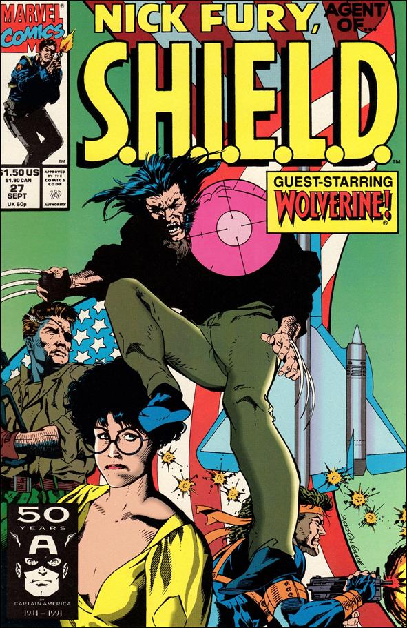 Nick Fury, Agent of S.H.I.E.L.D. (1989) 27-A by Marvel
