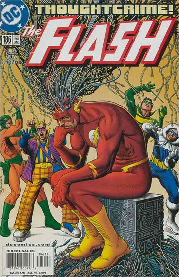 Flash (1987) 186-A by DC