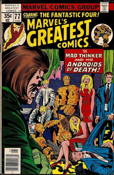 Marvel's Greatest Comics 77-A by Marvel
