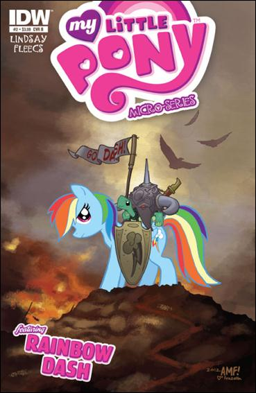 My Little Pony Micro-Series  2-B by IDW