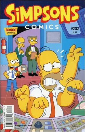 Simpsons Comics 202-A