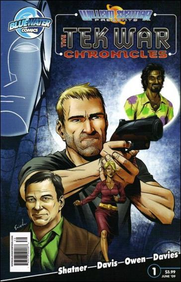 William Shatner Presents: The Tek War Chronicles 1-B by Bluewater Comics