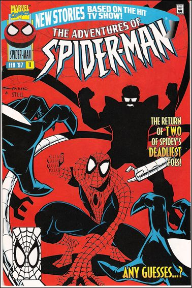 Adventures of Spider-Man / Adventures of the X-Men 11-A by Marvel
