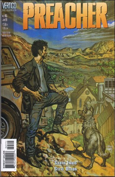 Preacher 45-A by Vertigo