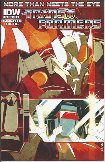 Transformers: More Than Meets the Eye (2012) 4-B by IDW