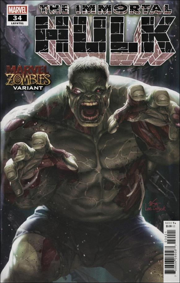 Immortal Hulk 34-B by Marvel