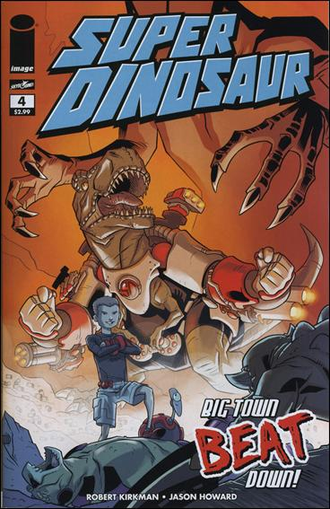 Super Dinosaur 4-A by Skybound Entertainment