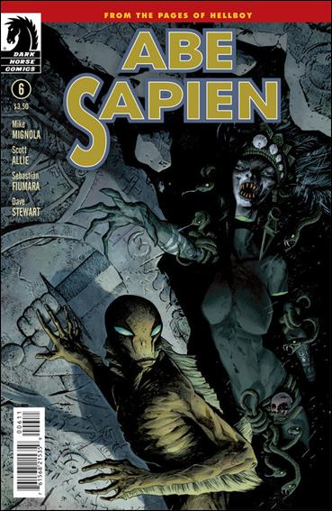 Abe Sapien 6-A by Dark Horse