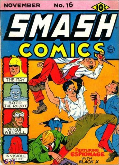 Smash Comics (1939) 16-A by Quality