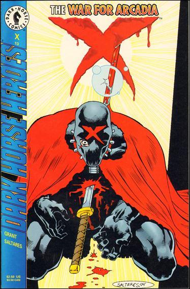 X (1994) 13-A by Dark Horse