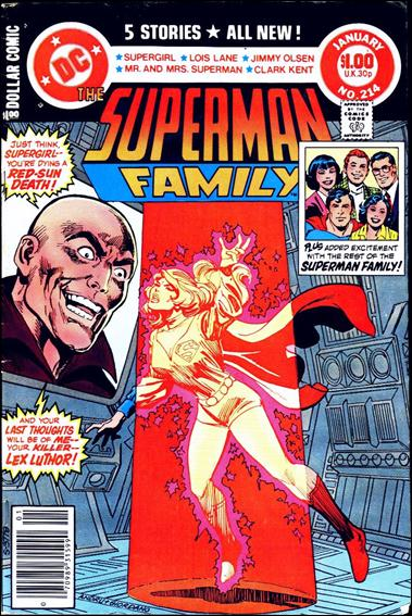 Superman Family 214-A by DC
