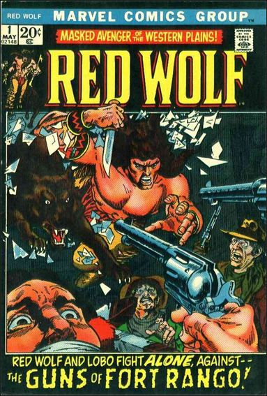 Red Wolf (1972) 1-A by Marvel