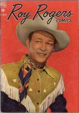 Roy Rogers Comics 10-A