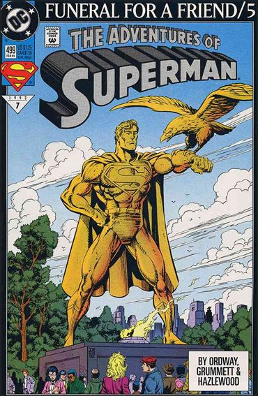 Adventures of Superman (1987) 499-A by DC