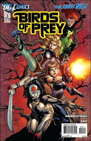 Birds of Prey (2011) 3-A by DC