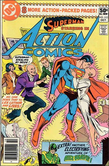 Action Comics (1938) 512-A by DC