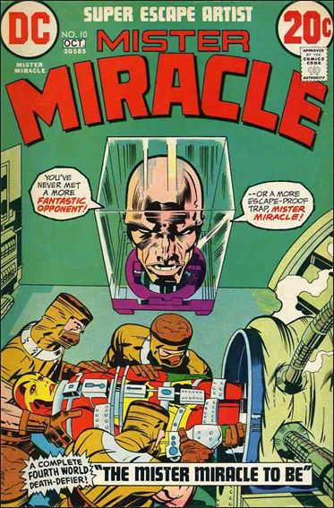 Mister Miracle (1971) 10-A by DC