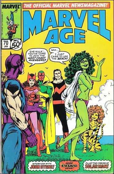 Marvel Age 70-A by Marvel