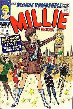 Millie the Model Comics 147-A by Marvel