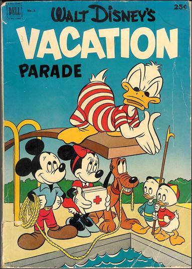 Walt Disney's Vacation Parade (1950) 3-A by Dell