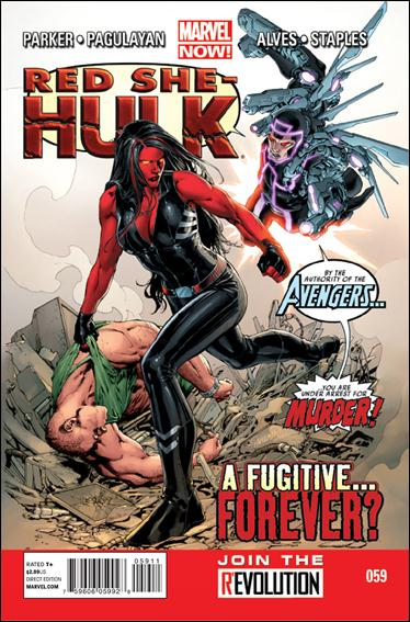 Red She-Hulk 59-A by Marvel
