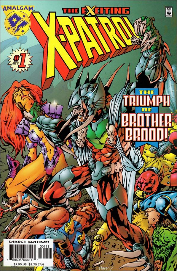 Exciting X-Patrol 1-A by Amalgam