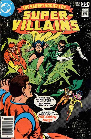 Secret Society of Super-Villains 13-A by DC
