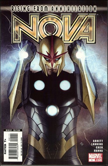 Nova (2007) 1-A by Marvel