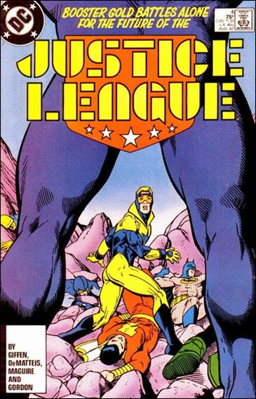Justice League (1987) 4-A by DC