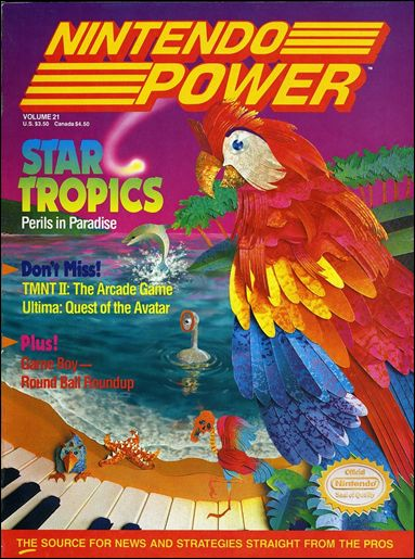 Nintendo Power 21-A by Future Publishing