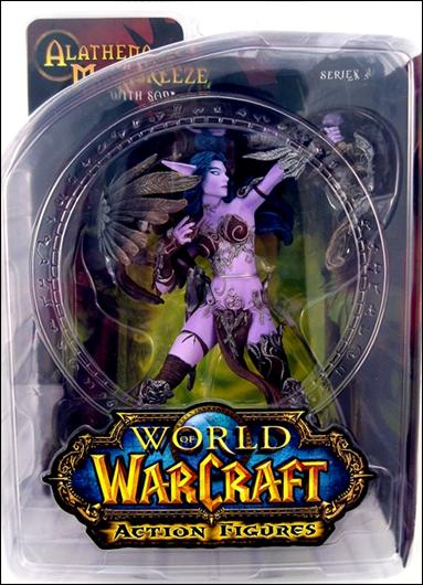 World of Warcraft (Series 5) Alathena Moonbreeze (Night Elf Hunter) with Sorna by DC Direct