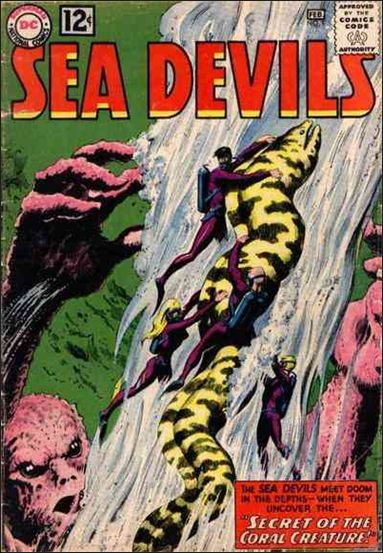 Sea Devils 9-A by DC