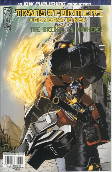 Transformers: Generations 6-B by IDW