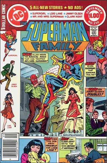 Superman Family 210-A by DC