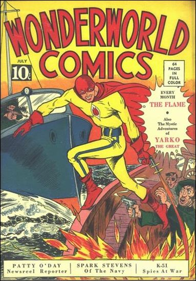 Wonderworld Comics 3-A by Fox