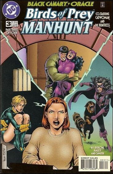 Birds of Prey: Manhunt 3-A by DC