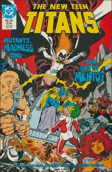 New Teen Titans (1984) 34-A by DC