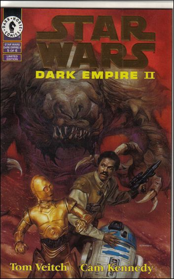 Star Wars: Dark Empire II 5-B by Dark Horse