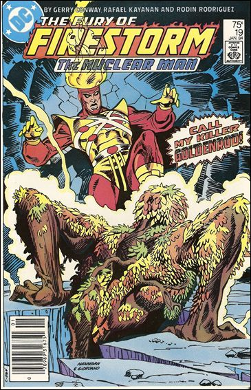 Fury of Firestorm 19-A by DC