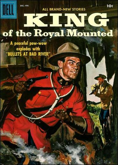 King of the Royal Mounted 23-A by Dell